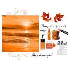 """#pumpkinspicebeauty"" by enfashionistas on Polyvore featuring Anja, Nest Fragrances, Paula Dorf, Ilike Organic Skin Care, Harvest and pumpkinspicebeauty"