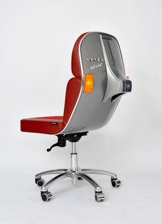 Vespa Chair Silver