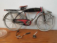 "Salesman's sample miniature ""Western Flyer Bicycle""; works exactly like the full size one."