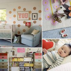 Pin for Later: 35 Gorgeous Rooms to Inspire Your Little Girl's Nursery Baby Ruby's Fanciful, Fun Nursery