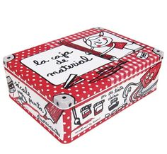 La caja La caja de material. Un regalo perfecto para chicos y chicas, diseño de la afamada española Anna Llenas. En Decocuit Regalos y decoración en Burgos encontrarás más modelos de estas cajas. Y si quieres comprar, lo puedes hacer a través de nuestra tienda on line www.decocuit.com. Te sorprenderemos!