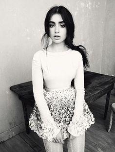 lily collins Pinterest: Jessica Eilyn
