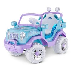 Disney's Frozen 4x4 Ride-On, Multicolor