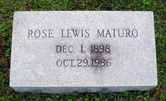 Rosemary Rose Lewis Maturo