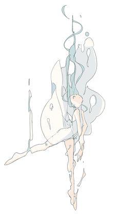 Character Drawing Illustration .
