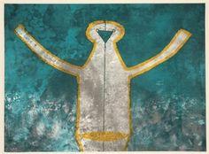 Figura de Hombre en Gris By Rufino Tamayo ,1973
