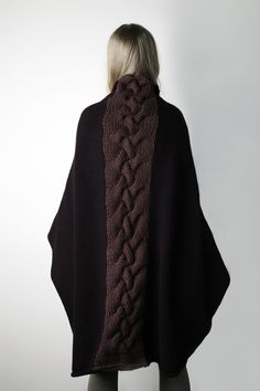 Amy Hall, Oversized wrap cardigan. @ Af 3/1/13