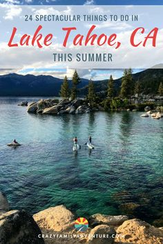 Lake Tahoe is a beautiful place to explore in the summer! From the spectacular lake to the attractions, hiking and beaches. We cover South Tahoe and also the Nevada side. Check out 24 things to do in Lake Tahoe this summer. Lake Tahoe Map, Lake Tahoe Summer, Lake Tahoe Vacation, California Vacation, Tahoe California, Northern California, Lake Tahoe Hiking, South California, Vacation Places