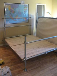 How to make a Pipe Bedframe