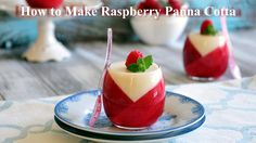 Check out how to make this Raspberry Panna Cotta with video tutorial. Perfect Holiday dessert that your guests will love.