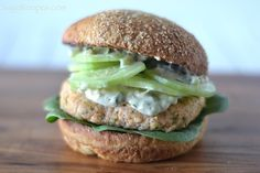 This is a fish burger