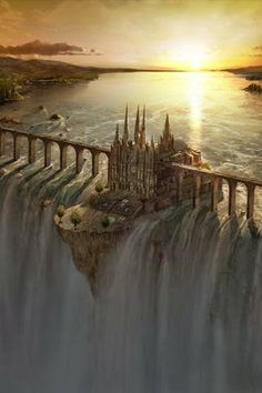 FAIRY TALE: Tell a story using this setting. Where is this? Who lives here? Tell…