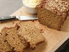 Get Irish Guinness Brown Bread Recipe from Food Network... buttermilk, oatmeal