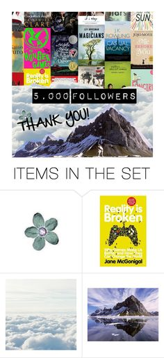 """""""5,000 followers"""" by hangar-knjiga ❤ liked on Polyvore featuring art, book, reading, books and bookworm"""