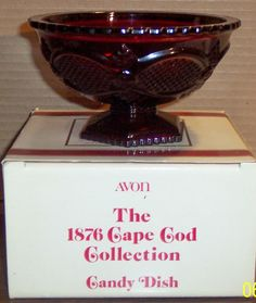 24 Best Avon Red Glass Collection Images Red Glass Glass
