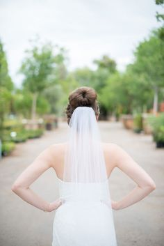 Gorgeous veil and updo | Charity Maurer Photography