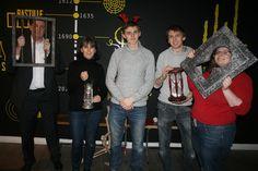 Que de réussite pour notre équipe LES BLAIREAUX, qui ne se sont pas comporté comme tel car ils auront réussi leur mission Bastille ! Et haut la main ! ;)