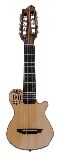 Electro acoustic Charango guitar model + Hard case
