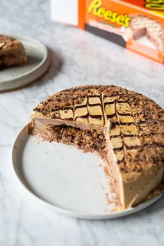 What's not to love about this REESE's Ice Cream Cake? 📸: @gina.chong Reese's Ice Cream Cake, Reeses Ice Cream, Chocolate Ice Cream Cake, Chocolate Drizzle, Decadent Chocolate, Whipped Icing, Cake Servings, Peanut Butter Cups, Ethnic Recipes