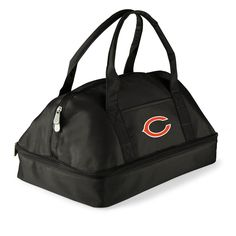 The Chicago Bears Potluck Casserole Tote is great for bring warm food dishes to any tailgating or event away from home