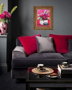 PWAT New Life in Bloom in gray room