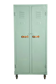 mint lockers with leather straps