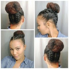 Pin by Lerie Turner on Hair Insperations | Pinterest | Updo, Natural ...