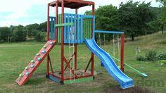 DIY playground http://mojdom.zoznam.sk/cl/1000011/1291797/VAS-TIP--Detske-ihrisko-vyrobene-svojpomocne-zo--stavebnych-zvyskov-