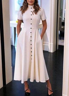 Girly Outfits – Page 6140382584 – Lady Dress Designs Girly Outfits, Classy Outfits, Skirt Outfits, Chic Outfits, Dress Skirt, Modest Fashion, Hijab Fashion, Fashion Dresses, Casual Dresses