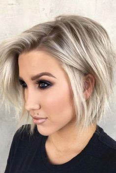 55 Best Short Haircuts 2019 Quick Easy To Style. 55 Best Short Haircuts 2019 Quick Easy To Style. 55 Best Short Haircuts 2019 Quick Easy To Style. Stylish Short Haircuts, Best Short Haircuts, Short Hairstyles For Women, Hairstyles Haircuts, Popular Hairstyles, School Hairstyles, Chin Length Hairstyles, A Line Haircut Short, Stacked Bob Haircuts