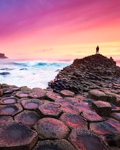 Giants Causeway Beach, Ireland