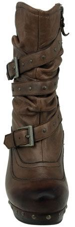 Women's Earthies Fabienne Boot (Almond Leather)