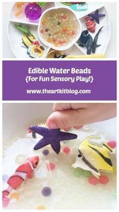 Edible Water Beads {