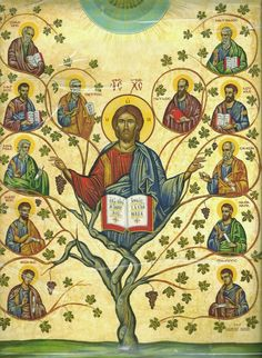 For the 'Apostles fast' in the Orthodox Church, and here's an activity to assemble the icon day by day until the feast on June . Religious Education, Religious Icons, Religious Art, Christian Symbols, Christian Art, Christian Virtues, Tree Of Jesse, The Holy Mountain, Orthodox Christianity