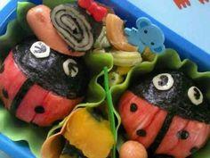 幼稚園のお弁当 ☆てんとうムシ☆の画像