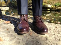 A Guide to Dress Boots (featuring Allen Edmonds Dalton) Allen Edmonds Dalton, Tweed Men, Modern Gentleman, Fresh Shoes, Dress With Boots, Fashion Outlet, Fitness Fashion, Combat Boots, Oxford Shoes