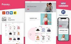 Wordpress Theme, Ecommerce, Templates, Fashion, Moda, Stencils, Fashion Styles, Vorlage, E Commerce