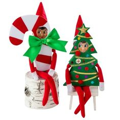 Additional recommended The Elf on the Shelf® Claus Couture Haha Holiday Costumes, Multicolor for Christmas Gifts Idea Online Christmas Tree Costume, Elf Christmas Decorations, Christmas Costumes, Christmas Elf, Holiday Crafts, Holiday Fun, Christmas Ideas, Halloween Costumes, Christmas Stuff