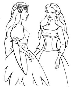 17 Best Barbie Coloring Images Barbie Coloring Pages Coloring