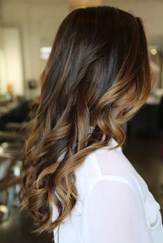 ombre hair color, color melting, balayage