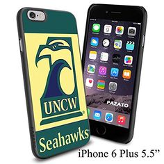 "UNCW SEAHAWKS , Cool iPhone 6 Plus (6+ , 5.5"") Smartphone Case Cover Collector iphone TPU Rubber Case Black Phoneaholic http://www.amazon.com/dp/B00VVQN3X8/ref=cm_sw_r_pi_dp_7AInvb0F7B6RH"