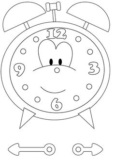 Clock Coloring Page Best Of Clock Coloring Pages Printable Kindergarten Printables Inspirational.