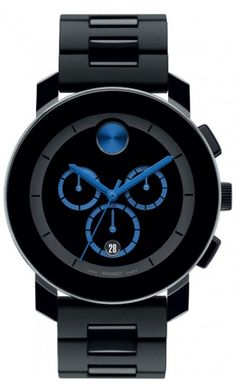 Movado bold.. blue.  Black is nice, too.