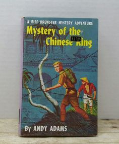 Mystery of the Chinese King, Biff Brewster Mystery, 1960, Andy Adams, vintage kids book by RandomGoodsBookRoom on Etsy