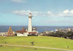 Donkin Memorial and Lighthouse Algoa Bay Port Elizabeth Port Elizabeth, Cn Tower, Seattle Skyline, Lighthouse, English, Memories, Building, Travel, Bell Rock Lighthouse