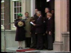 Koninklijk bezoek aan Harlingen 30-04-1982 deel 1 - YouTube