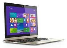 """Toshiba P35W-B3226 Click 2 Pro 13.3"""" FHD Touch 2-In-1 Ultrabook Laptop Intel i7-4510U 8GB Memory 128GB Solid State Drive Satin Gold   see more at  http://laptopscart.com/product/toshiba-p35w-b3226-click-2-pro-13-3-fhd-touch-2-in-1-ultrabook-laptop-intel-i7-4510u-8gb-memory-128gb-solid-state-drive-satin-gold/"""
