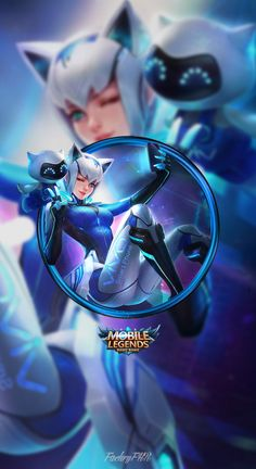 Wallpaper Phone Eudora Vivo by FachriFHR on DeviantArt Mobile Legend Wallpaper, Hero Wallpaper, Hd Wallpapers For Mobile, Gaming Wallpapers, Miya Mobile Legends, Cat Download, Alucard Mobile Legends, Moba Legends, Legend Games