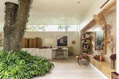 Brilliant Brazilian Houses Centered Around Trees House Design, Casa De Campo, Architecture Illustrations, Design Homes