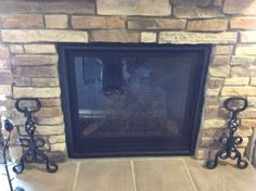 Sterling-Gray-Stack-ease for Family Room fireplace | Independence ...